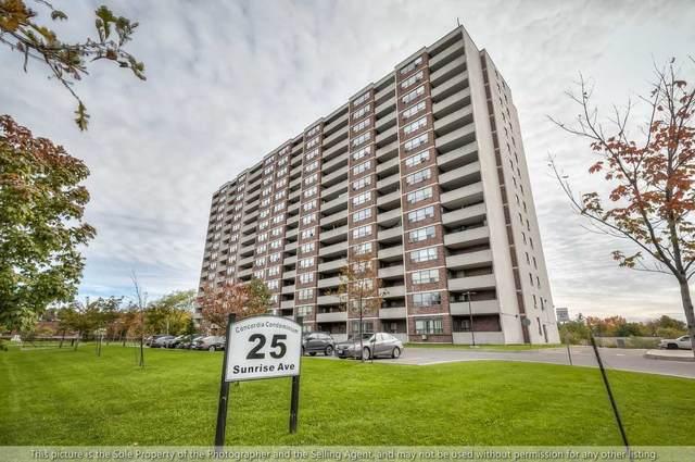 25 Sunrise Ave #907, Toronto, ON M4A 2S2 (#C5411932) :: Royal Lepage Connect