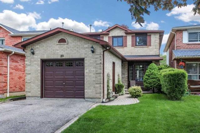 89 Daniels Cres, Ajax, ON L1T 1Y7 (#E4489208) :: Jacky Man | Remax Ultimate Realty Inc.