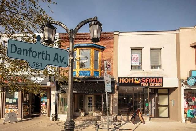 584 Danforth Ave, Toronto, ON M4K 1R1 (MLS #E4995638) :: Forest Hill Real Estate Inc Brokerage Barrie Innisfil Orillia