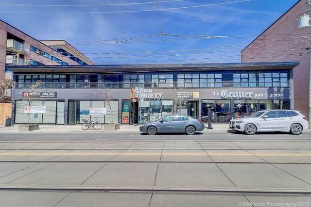 668 Kingston Rd, Toronto, ON M4E 1R4 (#E5118599) :: The Johnson Team