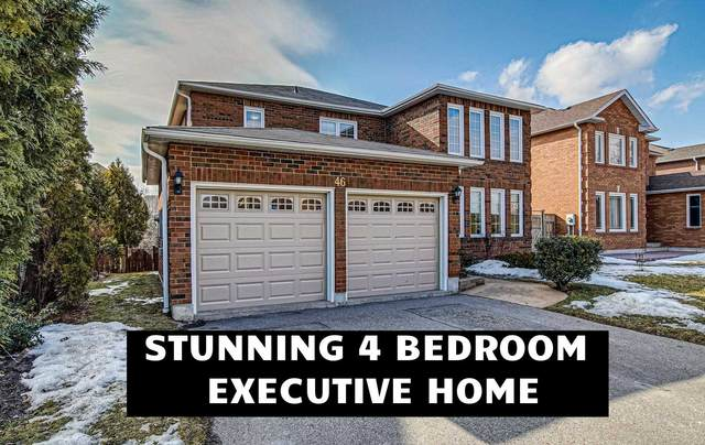 46 William Davidson St, Whitby, ON L1R 2H8 (MLS #E5138051) :: Forest Hill Real Estate Inc Brokerage Barrie Innisfil Orillia