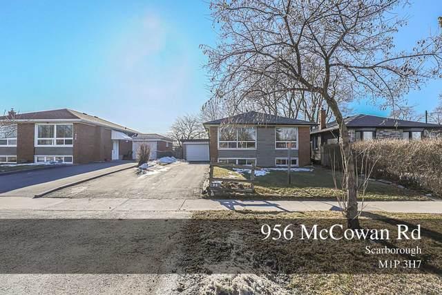 956 Mccowan Rd, Toronto, ON M1P 3H7 (MLS #E5140810) :: Forest Hill Real Estate Inc Brokerage Barrie Innisfil Orillia