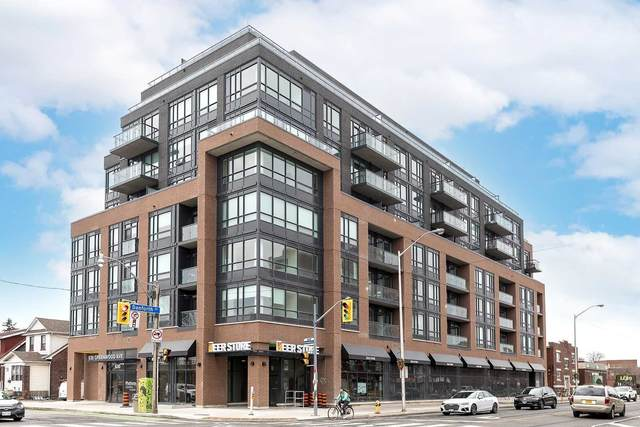 630 Greenwood Ave #801, Toronto, ON M4J 0A8 (#E5249919) :: The Ramos Team