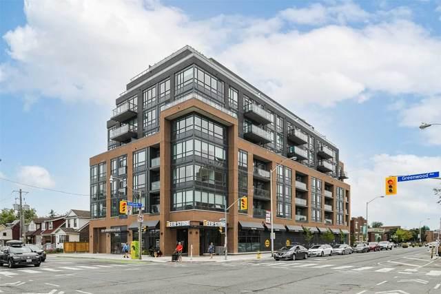 630 Greenwood Ave #806, Toronto, ON M4J 0A8 (#E5314472) :: The Ramos Team