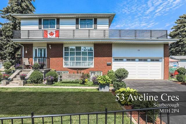 53 Aveline Cres, Toronto, ON M1H 2P4 (#E5326469) :: The Ramos Team