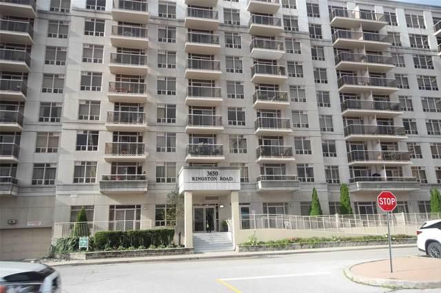 3650 Kingston Rd #619, Toronto, ON M1M 3X9 (#E5389998) :: Royal Lepage Connect
