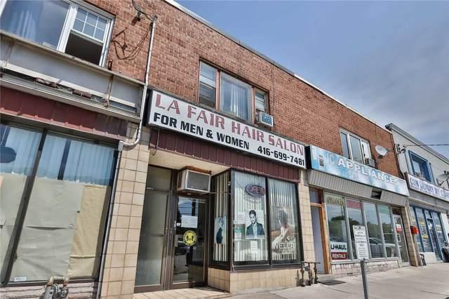 3468 Danforth Ave, Toronto, ON M1L 1E1 (#E5399899) :: Royal Lepage Connect
