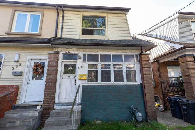 233 Victor Ave, Toronto, ON M4K 1B3 (#E5403155) :: Royal Lepage Connect