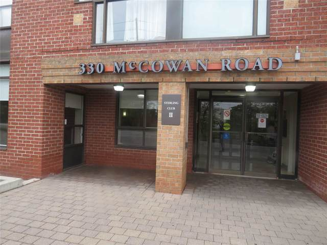 330 Mccowan Rd #404, Toronto, ON M1J 3N3 (#E5404329) :: Royal Lepage Connect