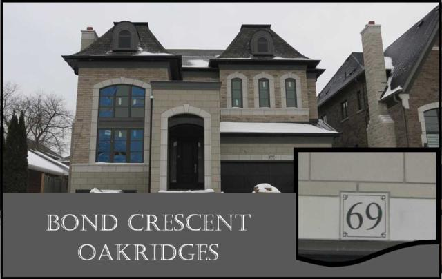 69 Bond Cres, Richmond Hill, ON L4E 3K6 (#N4365912) :: Jacky Man | Remax Ultimate Realty Inc.
