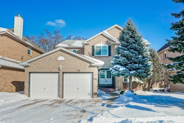 19 Cranleigh Dr, Markham, ON L3R 8L3 (#N4383937) :: Jacky Man | Remax Ultimate Realty Inc.