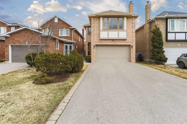 21 Cougar Crt, Richmond Hill, ON L4S 1H7 (#N4412119) :: Jacky Man | Remax Ultimate Realty Inc.