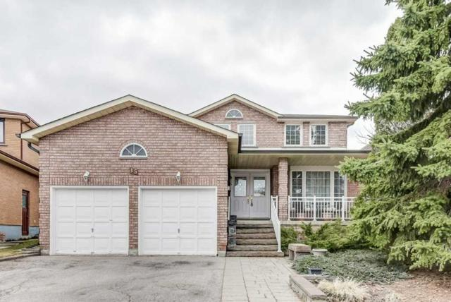 15 Crooked Stick Rd, Vaughan, ON L4K 1P4 (#N4413587) :: Jacky Man | Remax Ultimate Realty Inc.