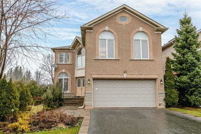 41 Verona Crt, Richmond Hill, ON L4S 2B8 (#N4419492) :: Jacky Man | Remax Ultimate Realty Inc.