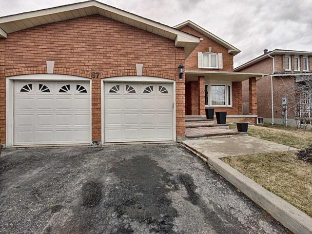 87 Dante Crt, Vaughan, ON L4L 7X5 (#N4420201) :: Jacky Man | Remax Ultimate Realty Inc.