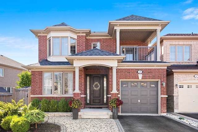2 Jeffrey Nihda Cres, Markham, ON L6E 0K5 (#N4572278) :: Jacky Man | Remax Ultimate Realty Inc.
