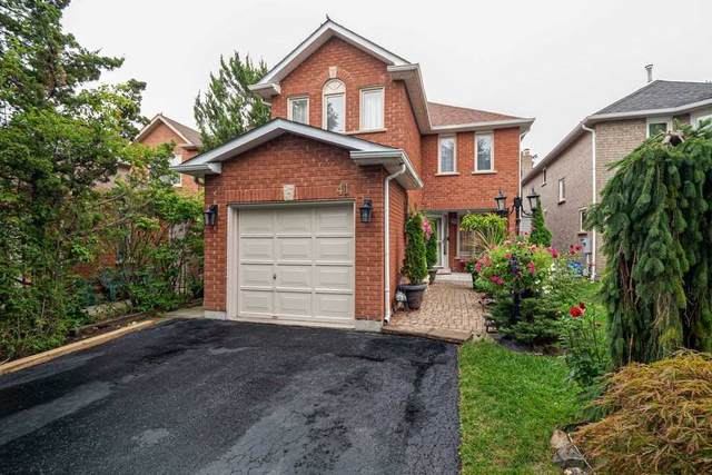41 Newmill Cres, Richmond Hill, ON L4C 9T6 (#N4907288) :: The Ramos Team