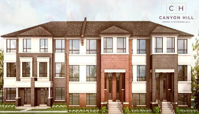 Lot 94 Canyon Hill Ave, Richmond Hill, ON L4C 4M2 (#N4919079) :: The Ramos Team