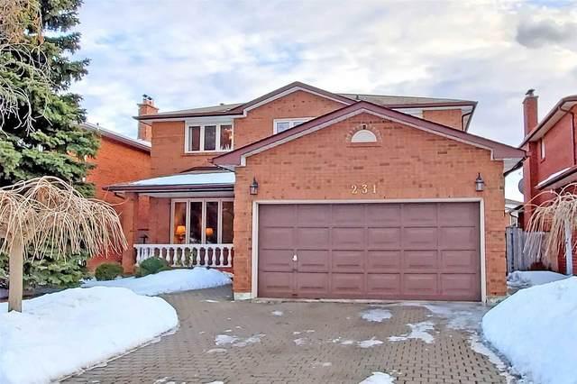 231 Killian Rd, Vaughan, ON L6A 1A8 (MLS #N5126573) :: Forest Hill Real Estate Inc Brokerage Barrie Innisfil Orillia