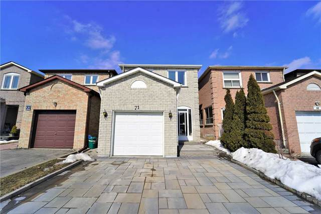 71 Trafford Cres, Markham, ON L3R 7H5 (MLS #N5136631) :: Forest Hill Real Estate Inc Brokerage Barrie Innisfil Orillia