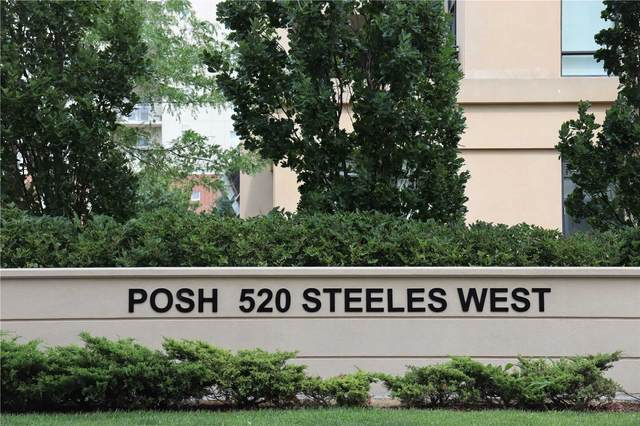 520 W Steeles Ave #1212, Vaughan, ON L4J 0H2 (#N5326286) :: The Ramos Team