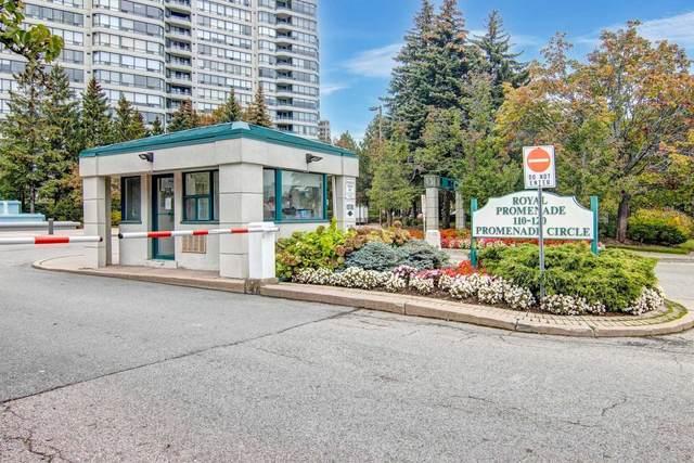 110 Promenade Circ #1508, Vaughan, ON L4J 7W8 (#N5405823) :: Royal Lepage Connect