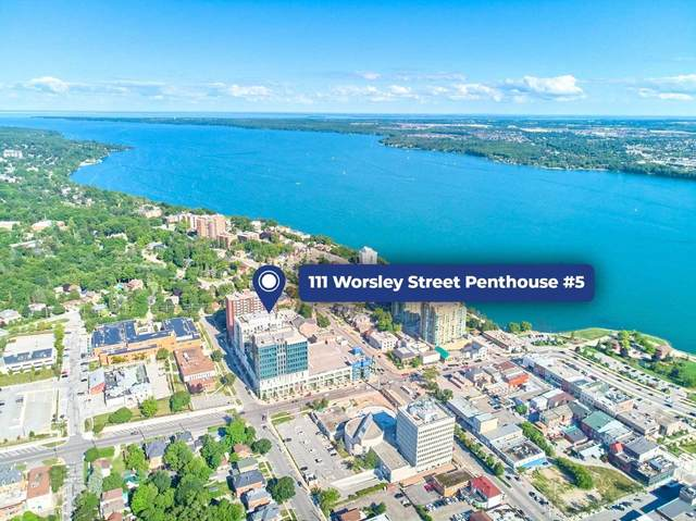 111 Worsley St Gph #5, Barrie, ON L4M 0J5 (MLS #S5271583) :: Forest Hill Real Estate Inc Brokerage Barrie Innisfil Orillia