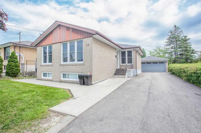 39 Del Ria Dr, Toronto, ON M6L 1M2 (#W4351313) :: Jacky Man   Remax Ultimate Realty Inc.