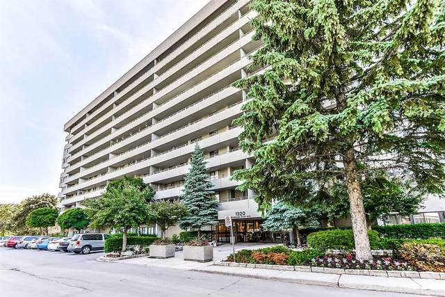1320 Mississauga Valley Blvd #201, Mississauga, ON L5A 3S9 (#W4915585) :: The Ramos Team