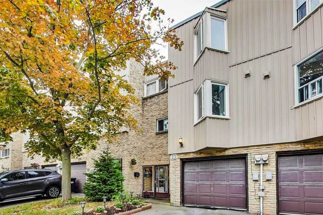 400 Bloor St #23, Mississauga, ON L5A 3M8 (#W4919565) :: The Ramos Team
