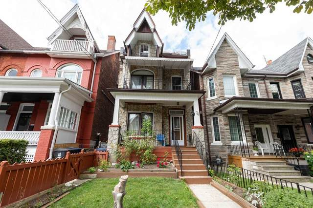76 Macdonell Ave, Toronto, ON M6R 2A2 (#W4920520) :: The Ramos Team