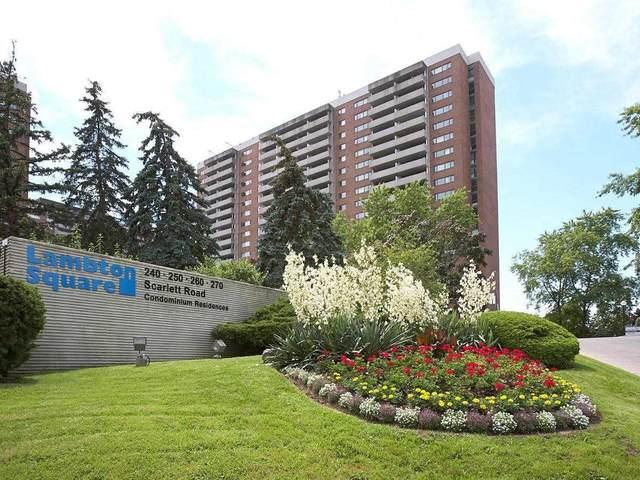 250 Scarlett Rd #1005, Toronto, ON M6N 4X5 (#W4922893) :: The Ramos Team