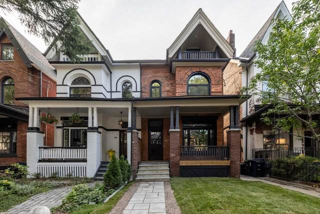160 Macdonell Ave, Toronto, ON M6R 2A6 (#W4923848) :: The Ramos Team
