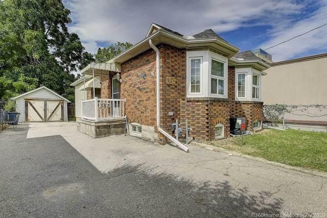 583 Burnhamthorpe Rd, Toronto, ON M9C 2Y3 (#W5113353) :: The Johnson Team