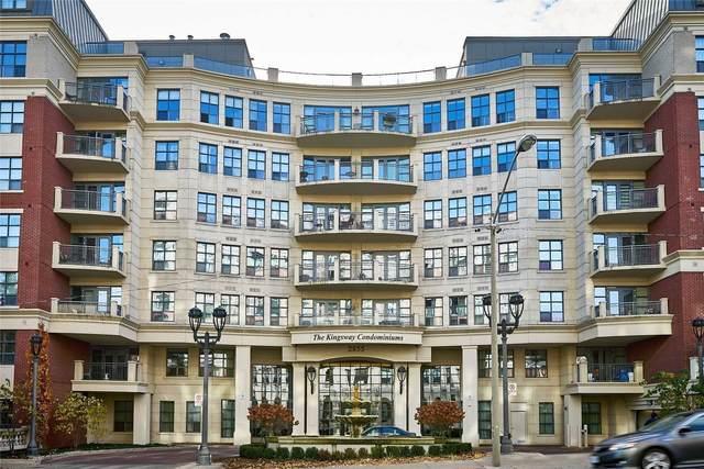 2855 W Bloor St #510, Toronto, ON M8X 3A1 (MLS #W5131575) :: Forest Hill Real Estate Inc Brokerage Barrie Innisfil Orillia