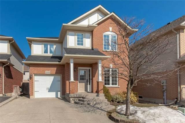 2333 Vanessa Dr, Burlington, ON L7L 7K9 (MLS #W5137738) :: Forest Hill Real Estate Inc Brokerage Barrie Innisfil Orillia