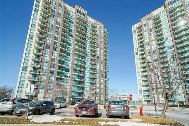 4879 Kimbermount Ave #1107, Mississauga, ON L5M 7R8 (MLS #W5138926) :: Forest Hill Real Estate Inc Brokerage Barrie Innisfil Orillia