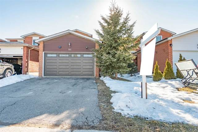 94 Ecclestone Dr, Brampton, ON L6X 3M7 (MLS #W5141069) :: Forest Hill Real Estate Inc Brokerage Barrie Innisfil Orillia