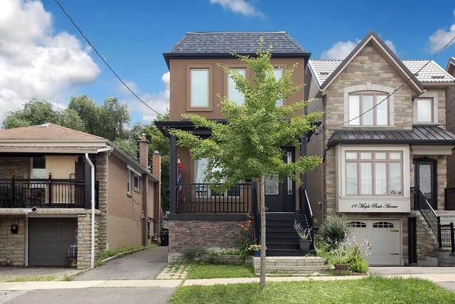 17 Maple Bush Ave, Toronto, ON M9N 1S7 (#W5350004) :: Royal Lepage Connect