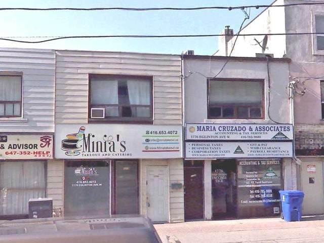 1778 W Eglinton Ave, Toronto, ON M6E 2H6 (#W5385100) :: Royal Lepage Connect