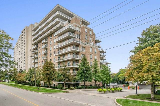 350 Mill Rd #908, Toronto, ON M9C 5R7 (#W5392199) :: Royal Lepage Connect