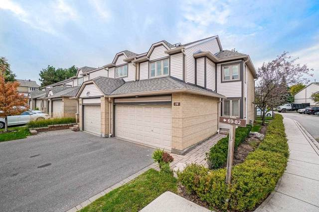 2275 Credit Valley Rd #76, Mississauga, ON L5M 4N5 (#W5400025) :: Royal Lepage Connect