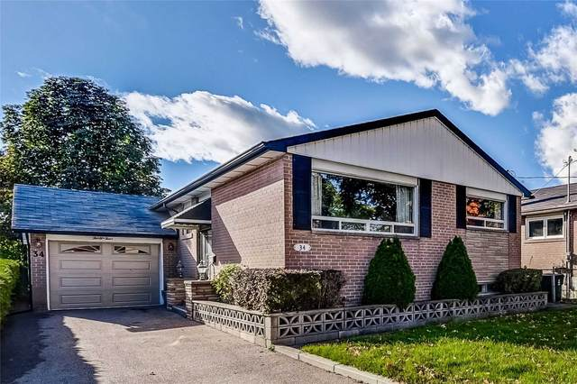 34 Hollister Rd, Toronto, ON M9C 4M7 (#W5407990) :: Royal Lepage Connect
