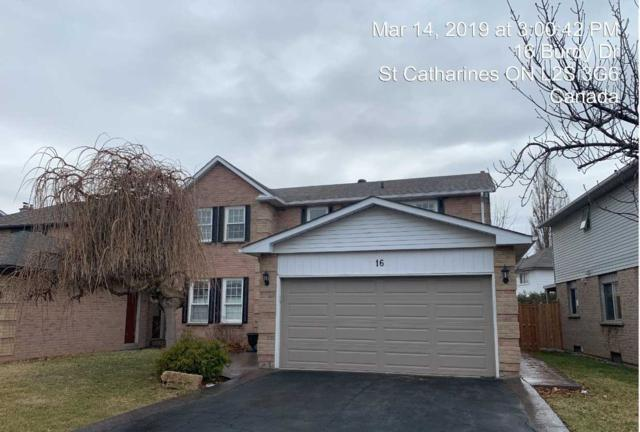 16 Burdy Dr, St. Catharines, ON L2S 3G6 (#X4385847) :: Jacky Man | Remax Ultimate Realty Inc.