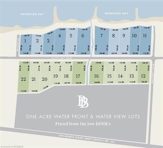 Lot #22 Plan 16M67, Georgian Bluffs, ON N0H 2T0 (MLS #X5085023) :: Forest Hill Real Estate Inc Brokerage Barrie Innisfil Orillia