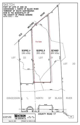 Lot2 Old Milford Rd, Prince Edward County, ON K0K 2P0 (#X5307980) :: The Ramos Team