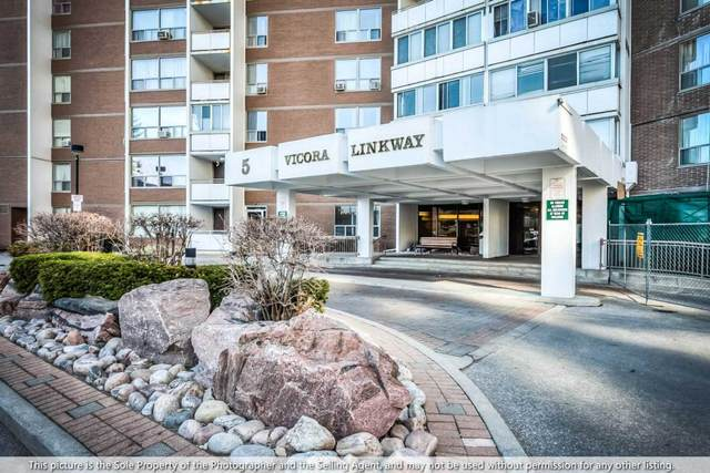 5 E Vicora Link Way #1705, Toronto, ON M3C 1A6 (MLS #C5126476) :: Forest Hill Real Estate Inc Brokerage Barrie Innisfil Orillia