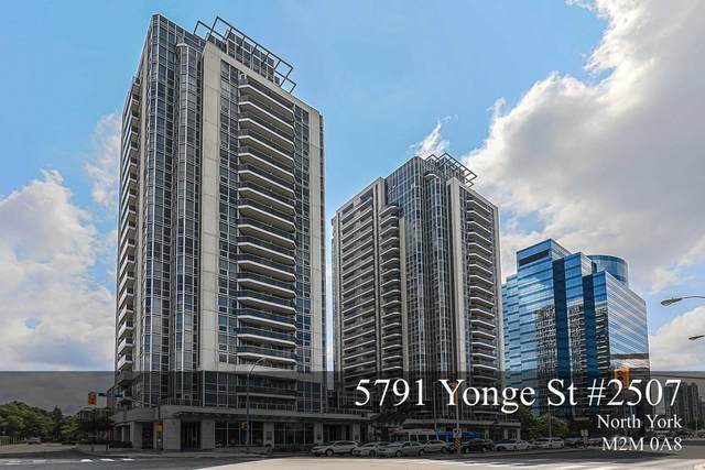 5791 Yonge St #2507, Toronto, ON M2M 3T9 (#C5322721) :: The Ramos Team