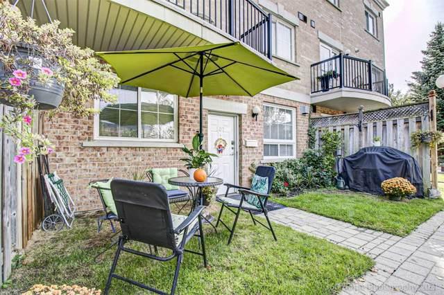 1785 Eglinton Ave #107, Toronto, ON M4A 2Y6 (#C5400433) :: Royal Lepage Connect