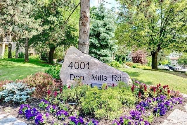 4001 Don Mills Rd #133, Toronto, ON M2H 3J8 (#C5411769) :: Royal Lepage Connect